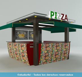 Islas Para Centro Comercial Modulos Comerciales